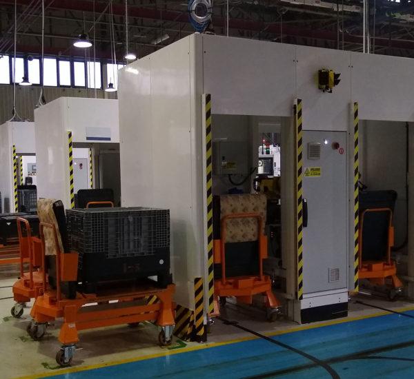Celdas para equipos robotizados